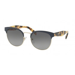 OKULARY PRADA EYEWEAR 61T VH8-5W1 BLUE/PALE GOLD GREY GRADIENT POLARIZED