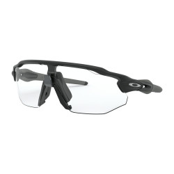 OKULARY OAKLEY® OO9442-06 RADAR EV ADVANCER MATTE BLACK/CLEAR BLACK IRIDIUM PHOTOCHROMIC