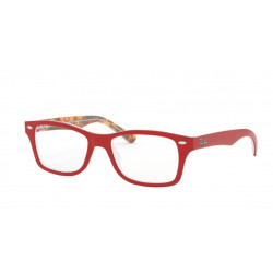 OKULARY KOREKCYJNE RAY-BAN® RB1531 3804 RED ON TEXTURE RED BROWN r.48