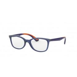 OKULARY KOREKCYJNE RAY-BAN® RB1586 3775 TRANSPARENT BLUE r. 49