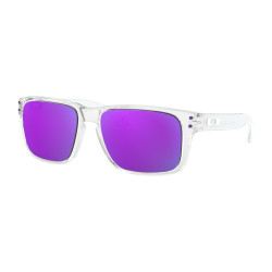 OKULARY OAKLEY® OJ9007-02 HOLBROOK XS POLISHED CLEAR/VIOLET IRIDIUM
