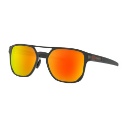 OKULARY OAKLEY® OO4128-05 LATCH ALPHA MATTE BLACK/PRIZM RUBY POLARIZED