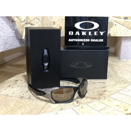 OKULARY OAKLEY® OO9137 PIT BOSS MATTE BLACK/TUNGSTEN POLARIZED CUSTOM