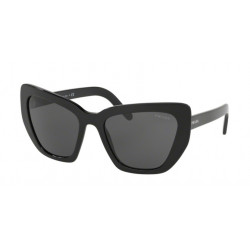 OKULARY PRADA EYEWEAR 08V 1AB-5S0 BLACK/GREY r.55