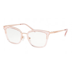 OKULARY MICHAEL KORS MK3032 3417 LIGHT PINK TRANSPARENT r.51