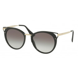 OKULARY PRADA EYEWEAR 66T 1AB-0A7 BLACK/GREY GRADIENT