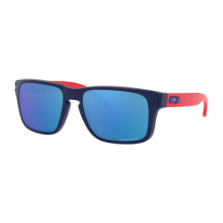 OKULARY OAKLEY® OJ9007 HOLBROOK XS POLISHED NAVY/PRIZM SAPPHIRE IRIDIUM YOUTH COLLECTION