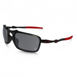 OKULARY OAKLEY® OO6020-07 BADMAN DARK CARBON/BLACK IRIDIUM POLARIZED FERRARI