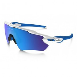 OKULARY OAKLEY® JUNIOR OJ9001-01 RADAR EV XS PATH POLISHED WHITE/SAPPHIRE IRIDIUM