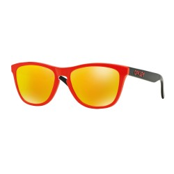 OKULARY OAKLEY® OO9013-34 FROGSKINS HERITAGE RED/FIRE IRIDIUM