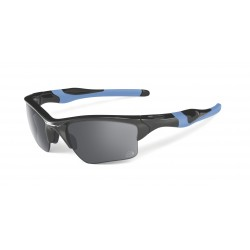 OKULARY OAKLEY® OO9154-25 HALF JACKET 2.0 XL POLISHED BLACK/BLACK IRIDIUM TOUR DE FRANCE TDF