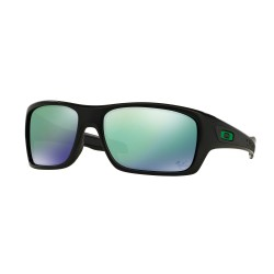 OKULARY OAKLEY® OO9263-15 TURBINE MATTE BLACK/JADE IRIDIUM MOTO GP
