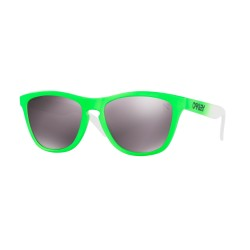 OKULARY OAKLEY® OO9013-99 FROGSKINS GREEN FADE/PRIZM DAILY POLARIZED