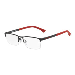 OKULARY EMPORIO ARMANI EA1041 3109 BLACK RUBBER r.53