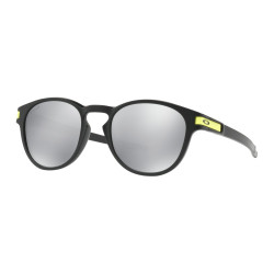 OKULARY OAKLEY® OO9265-21 LATCH MATTE BLACK/CHROME IRIDIUM VALENTINO ROSSI COLLECTION VR46
