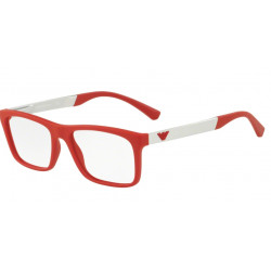 OKULARY EMPORIO ARMANI EA3101 5645 RED RUBBER r.53