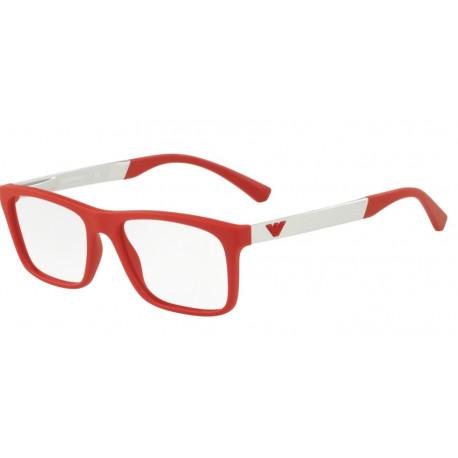 OKULARY EMPORIO ARMANI EA3101 5645 RED RUBBER r.53