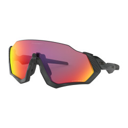 OKULARY OAKLEY® OO9401-01 FLIGHT JACKET MATTE BLACK POLISHED BLACK/PRIZM ROAD