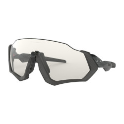 OKULARY OAKLEY® OO9401-07 FLIGHT JACKET STEEL/CLEAR BLACK IRIDIUM PHOTOCHROMIC