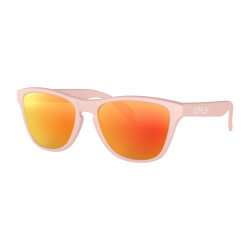 OKULARY OAKLEY® OJ9006-02 FROGSKINS XS MATTE PINK/PRIZM RUBY YOUTH