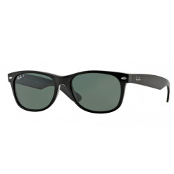 SZKŁA DO OKULARÓW RAY-BAN® RB2132 901/58 GREEN POLARIZED NEW WAYFARER r.55