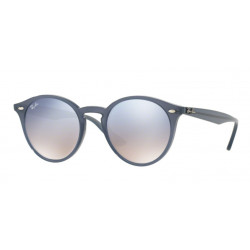 SZKŁA DO OKULARÓW RAY-BAN® RB2180 CLEAR GRADIENT BLUE MIRROR SILVER r.51