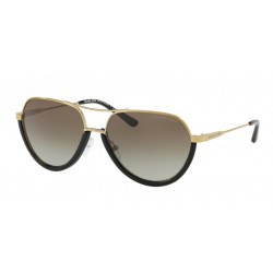 OKULARY MICHAEL KORS MK1031 1024/8E BLACK/SHINY PALE GOLD-TONE GREY GRADIENT