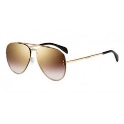 OKULARY CELINE CL 41392/2 J5GQH GOLD/ BROWN MIRROR GOLD r.58