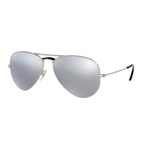 Ray Ban AVIATOR Okulary przeciwsłoneczne silver
