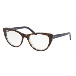 OKULARY PRADA EYEWEAR 05X 512-1O1 HAVANA/BLUE CHESS r.53
