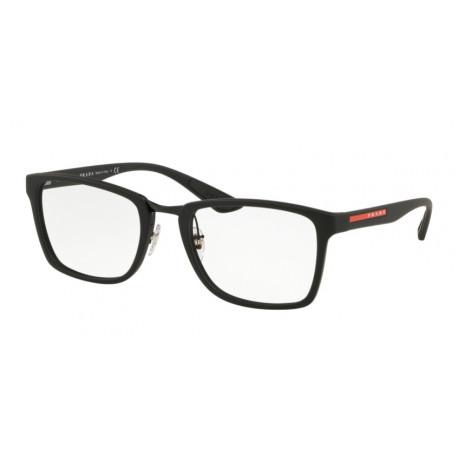 OKULARY PRADA SPORT 06L DG0-1O1 BLACK RUBBER r.55