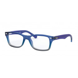 OKULARY KOREKCYJNE RAY-BAN® RB1531 3647 BLUE GRADIENT IRIDESCENT GREY r.48