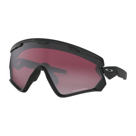 OKULARY OAKLEY® OO9418-02 WINDJACKET 2.0 MATTE BLACK/PRIZM SNOW BLACK IRIDIUM