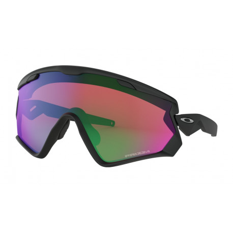 OKULARY OAKLEY® OO9418-01 WINDJACKET 2.0 MATTE BLACK/PRIZM SNOW JADE