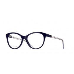 OKULARY KOREKCYJNE GUCCI GG0486O 005 BLUE/TRANSPARENT r.54