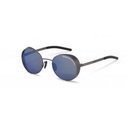 OKULARY PRZECIWSŁONECZNE PORSCHE DESIGN P8674B GREY/STRONG DARK BLUE MIRROR 90% r.50