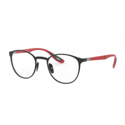 OKULARY KOREKCYJNE RAY-BAN® RB6355M F028 BLACK FERRARI COLLECTION r.50