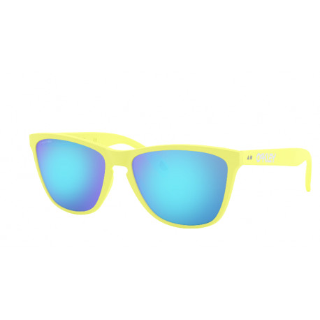 OKULARY OAKLEY® OO9444-03 FROGSKINS 35TH MATTE NEON YELLOW/PRIZM SAPPHIRE 35TH COLLECTION