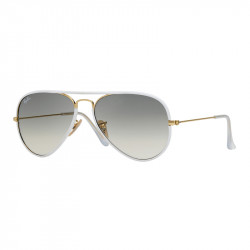 SZKŁA DO OKULARÓW RAY-BAN® RB3025 RB8307 GREY GRADIENT AVIATOR r.58