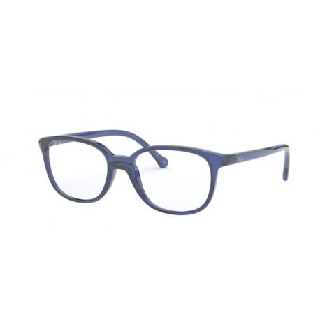 OKULARY KOREKCYJNE RAY-BAN® RB1900 3834 TRANSPARENT BLUE JUNIOR r.48
