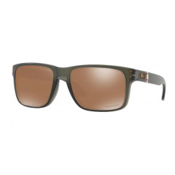 OKULARY OAKLEY® OO9102-G6 HOLBROOK MATTE OLIVE INK/PRIZM TUNGSTEN AMERICAN HERITAGE