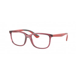 OKULARY KOREKCYJNE RAY-BAN® RB1605 3866 TRANSPARENT RED r.49
