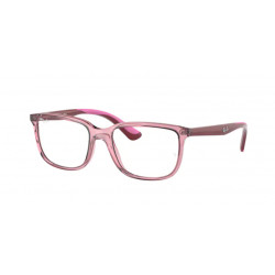 OKULARY KOREKCYJNE RAY-BAN® RB1605 3777 TRANSPARENT PINK r. 49 JUNIOR